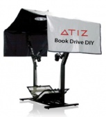 Книжный сканер Atiz BookDrive DIY model A + EOS 50D