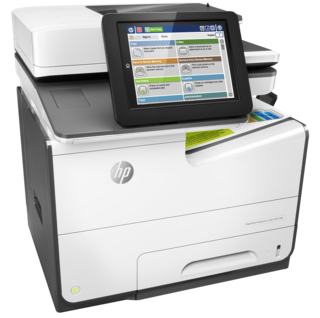 Цветной лазерный копир/мфу A4 HP PageWide Enterprise Color MPF 586dn (Арт. G1W39A)