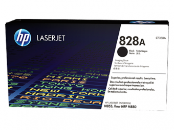 Барабан передачи изображений HP 828A черный LaserJet, для HP Color LaserJet Enterprise M855dn/M855x+/M855x+ NFC/беспроводная печать/M855xh/M880z+ NFC/Wireless Direct/M880z/M880z+ (Ресурс 30000 страниц) (Арт. CF358A)