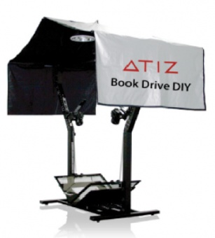 Книжный сканер Atiz BookDrive DIY model B + EOS 500D
